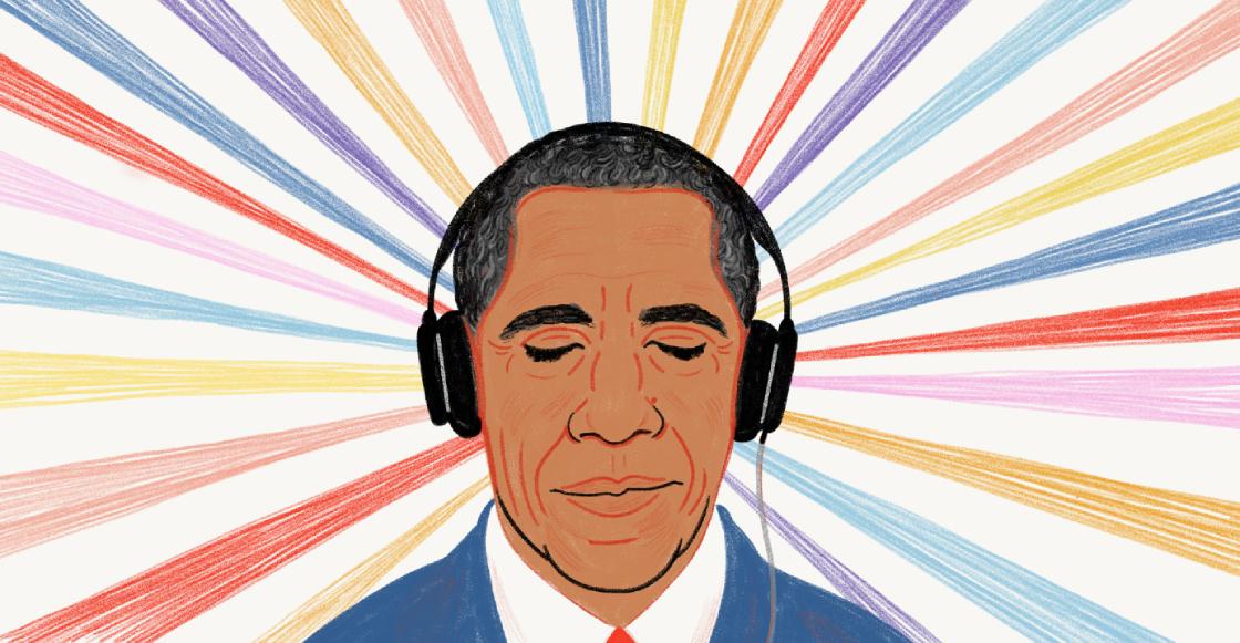 ¡Qué finura! Barack Obama reveló sus canciones favoritas del 2019