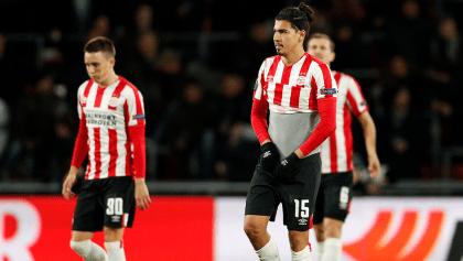 Adiós: PSV y el 'Guti' fueron eliminados de la Europa League
