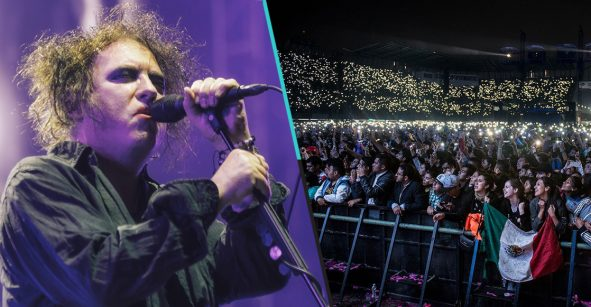 Somos el mejor público: ¡Robert Smith reveló que su momento favorito del año fue su concierto en México!