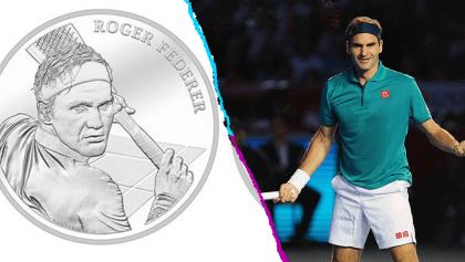Su majestad: Roger Federer aparecerá en las monedas suizas en 2020