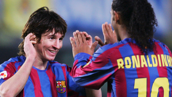 Ronaldinho no cree que Messi sea el mejor de la historia
