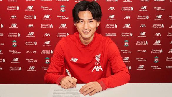 Takumi Minamino, el primer jugador japonés en llegar al Liverpool