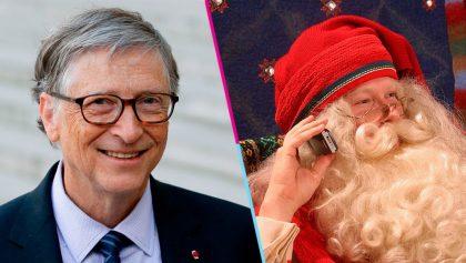 ¡Bill Gates se vistió de Santa Claus y le dio un enorme regalo a usuario de Reddit!