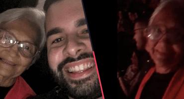 Qué moderrrrna: Esta abuelita cumplió su sueño de ir a un concierto de Daddy Yankee