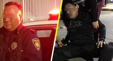 Acusan a policía de conducir ebrio y atropellar a tres personas; SSC asegura que los afectados eran delincuentes