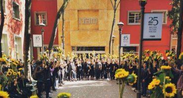 Estudiantes del ITAM se van a paro total tras el suicidio de una compañera