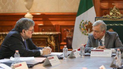AMLO se reúne con fiscal de EU; presidente reitera principio de no intervención