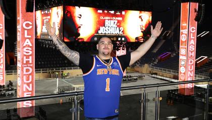 Pelea entre Andy Ruiz y Anthony Joshua se transmitirá en vivo en cines
