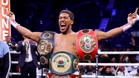 """""""La pelea más grande en la historia"""": Tyson Fury y Anthony Joshua pelearán dos veces en 2021"""