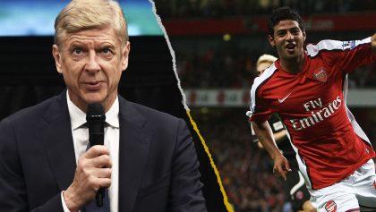 Arsene Wenger reveló por qué Carlos Vela no triunfó en el Arsenal