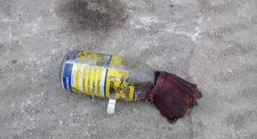 Atacan instalaciones de diario de San Luis Potosí con bomba molotov