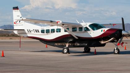Avión de Calafia Airlines desapareció cruzando el Mar de Cortés