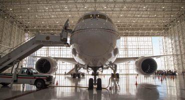 ¿Y el ahorro? Lavar el avión presidencial cuesta casi cien mil pesos