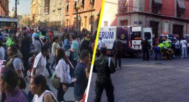 Se reporta balacera atrás de Palacio Nacional; se habla de varios muertos y heridos