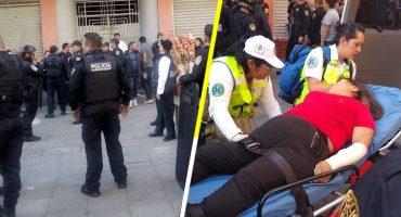 Balacera atrás de Palacio Nacional deja cuatro personas muertas y dos heridas