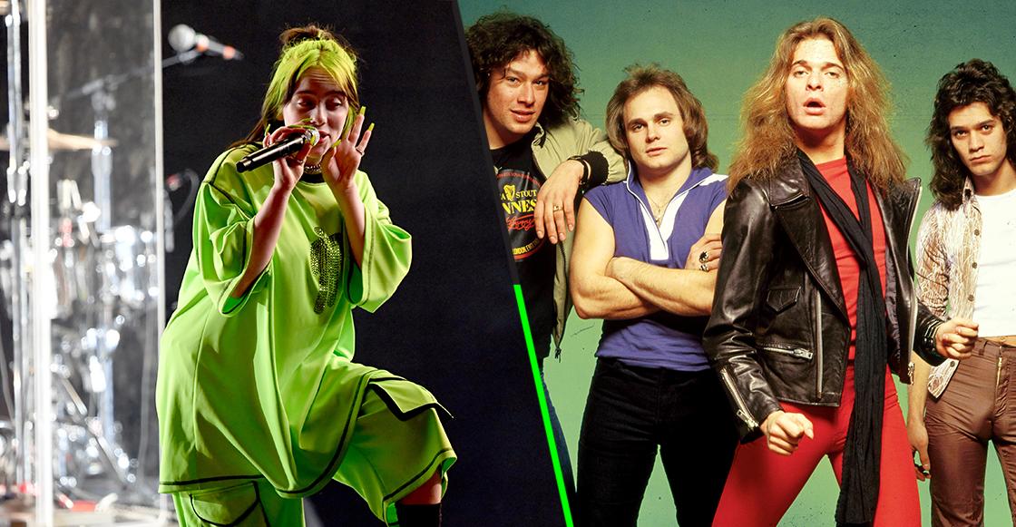 ¿Quién es Van Halen? Billie Eilish no tiene idea de quiénes son y el internet reaccionó