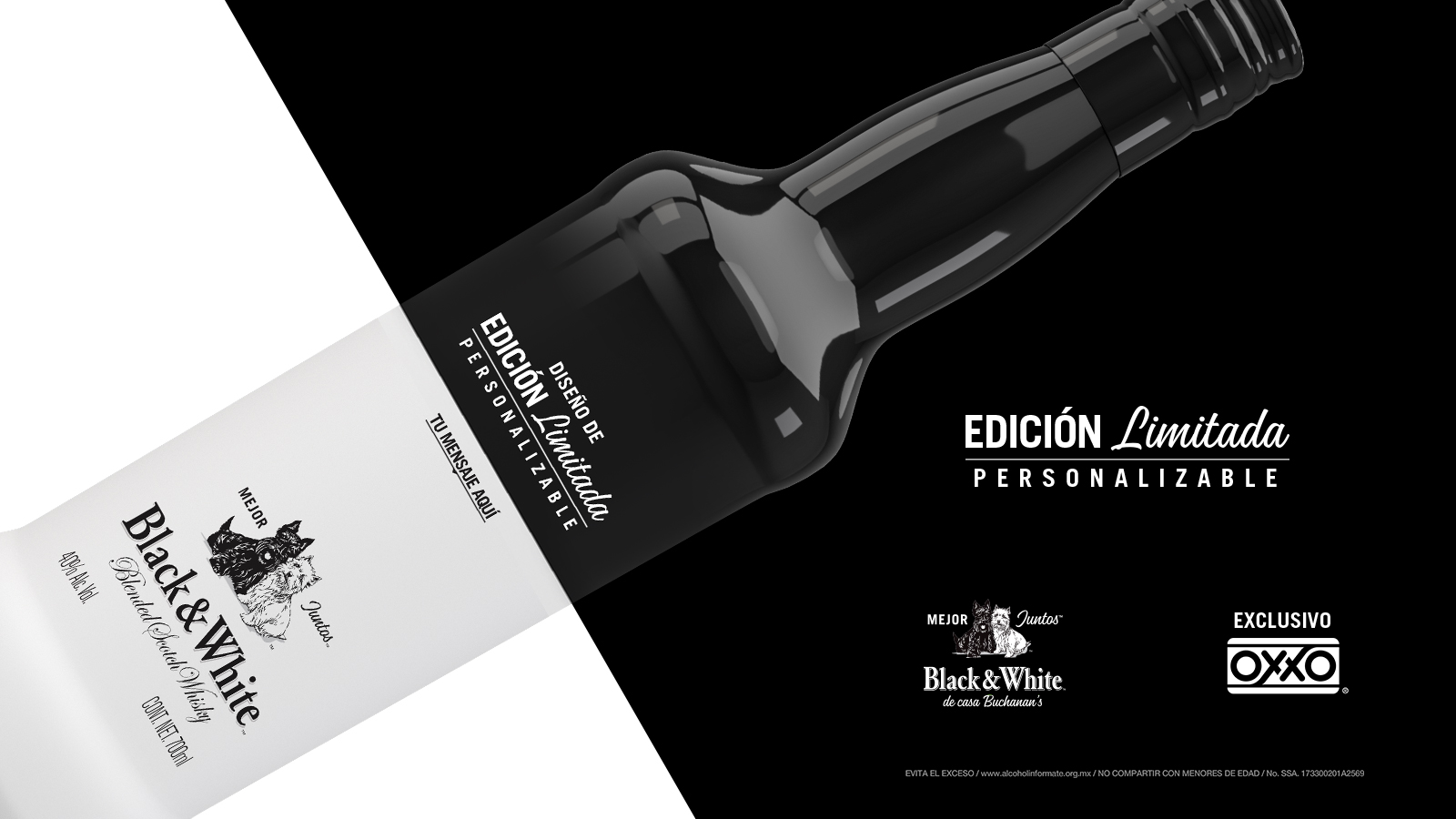 black and white mejor juntos edicion limitada oxxo