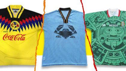 Camisetas del América, Tampico y Selección Mexicana, entre las 50 más bonitas de la historia