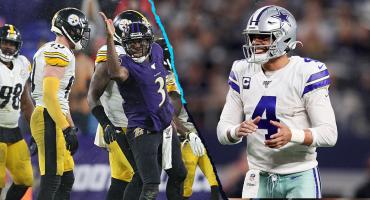 Dallas y Steelers se van de vacaciones; Eagles y Titans, últimos invitados a playoffs