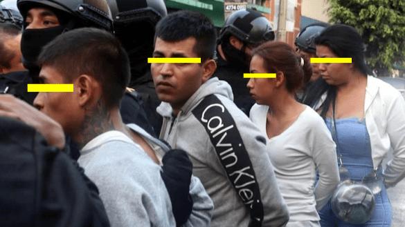 detención-banda-extorsionadores-centro-cdmx