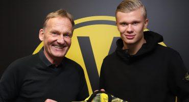¡Bombazo invernal! Erling Haland es nuevo jugador del Borussia Dortmund