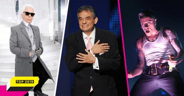 Desde Karl Lagerfeld hasta José José: Estas fueron las personalidades que se nos adelantaron este 2019