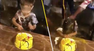 Qué hdspm: Golpean a niño con huevos y le arruinan su fiesta de cumpleaños