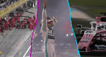 El triunfo de Hamilton, la remontada de Checo y el error de Ferrari: Lo que dejó el GP de Abu Dhabi