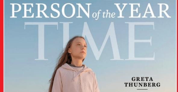 Greta Thunberg es nombrada 'Persona del Año' por Time