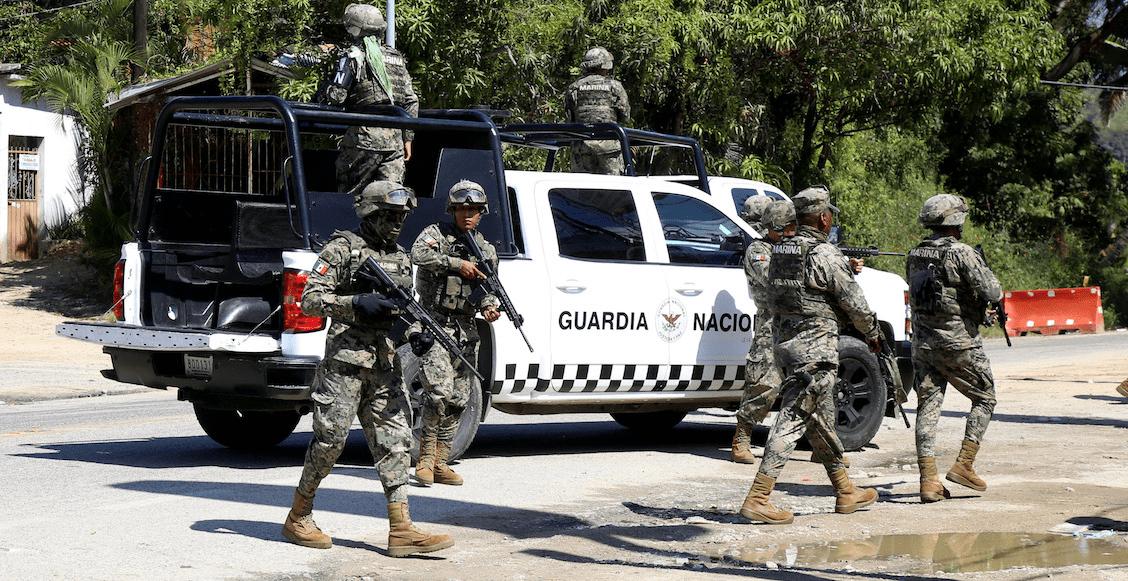 Grupo armado ataca a la Guardia Nacional en Irapuato