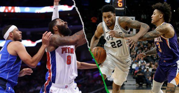 ¿Cómo llegan los Pistons, Mavericks, Suns y Spurs para los juegos de NBA en México?