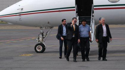 Interesante: Información del vuelo que trajo a Evo Morales a México estará reservada por 5 años