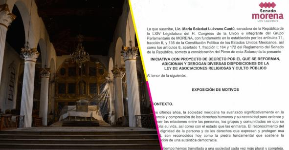 5 puntos de la iniciativa religiosa de Morena que nos hacen decir: