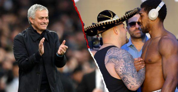 Mourinho pudo ver la pelea de Andy Ruiz con el Príncipe Arabia pero tenía partido
