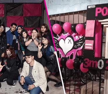 ¿Triste navidad? Jóvenes en Hermosillo organizan una posada con temática emo