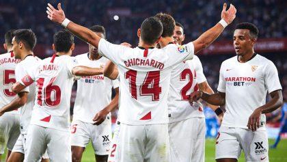 Lopetegui terminó con los rumores de la salida de 'Chicharito' del Sevilla