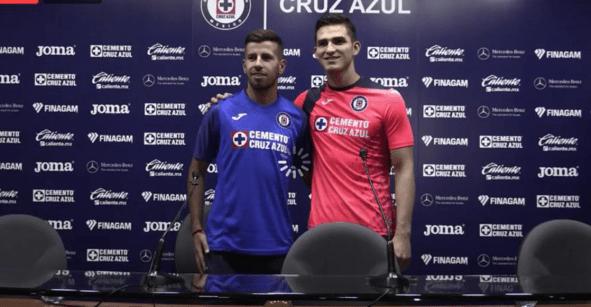 Jurado y Ceppelini revelan los números con los que jugarán con Cruz Azul