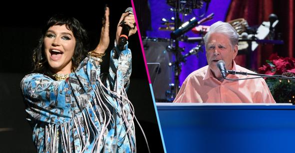 Colaboraciones bizarras presenta: Kesha estrena la rola que hizo con Brian Wilson de los Beach Boys