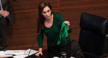 Lilly Téllez fuera de bancada de Morena en Senado
