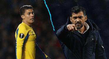 Nuevo jalón de orejas a Mateus Uribe en el Porto: