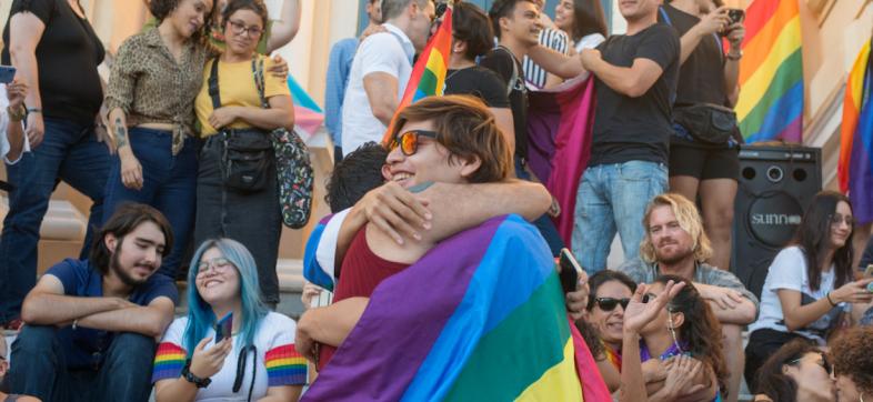 mérida-besatón-LGBTI-Museo-Regional-de-Antropología