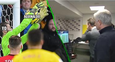 La reacción de Mourinho y los memes del osote de David De Gea con el Manchester United
