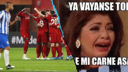 Los memes de la agónica derrota de Monterrey ante el Liverpool en el Mundial de Clubes