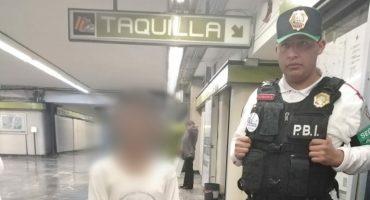 Un niño escapó de su casa por maltrato y lo rescataron en Metro Indios Verdes