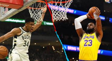 Los elogios de Antetokounmpo a LeBron previo a la Final adelantada de la NBA