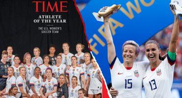 ¿Por qué la Selección Femenil de Estados Unidos fue elegida 'Atleta del año' por la revista 'TIME'?