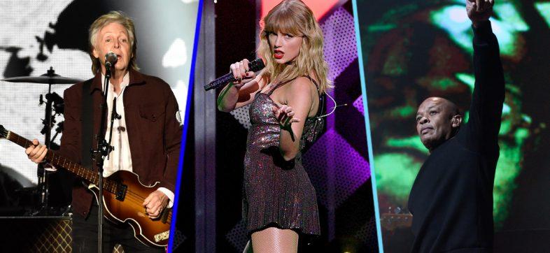 Forbes: Estos son los músicos que más dinero ganaron en la década