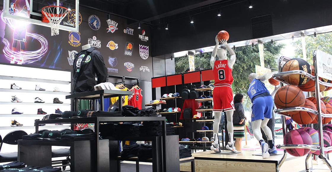 Resultado de imagen para La NBA abre primera tienda en México