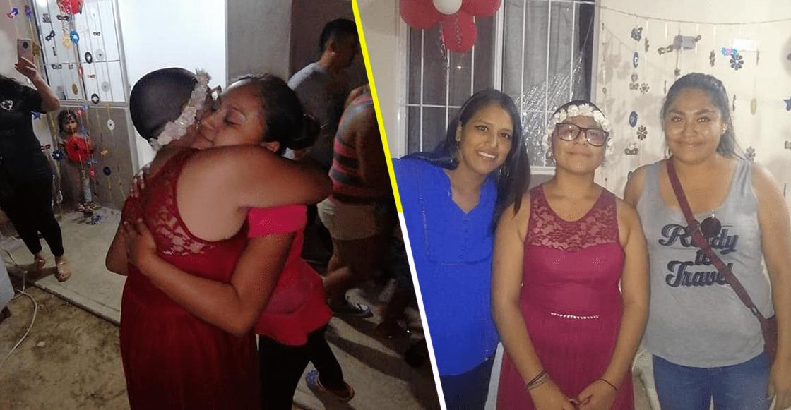 Niña con cáncer hizo una fiesta y nadie fue... pero el internet se organizó para festejarla