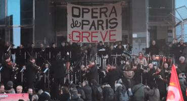 ¡Qué elegancia la de Francia! Orquesta de la Ópera de París protesta contra la reforma de pensiones